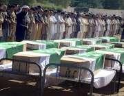 کوئٹہ: تربت میں فائرنگ سے قتل ہونے والے افراد کی نماز جنازہ ادا کی جا ..