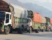 مظفر آباد: کسٹم حکام کے ظالمانہ سلوک کے باعث انٹرا ٹریڈ کے تاجروں نے ..