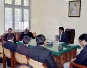 اٹک: مصالحتی سنٹر کے افتتاح کے بعد ڈسٹرکٹ اینڈ سیشن جج اٹک عاقل حسن ..