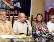 لاہور: پاکستان سول سوسائٹی فورم کے زیر اہتمام اورنج ٹرین کے حوالے سے ..