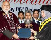 اسلام آباد: چیئرمین انجینئرنگ کونسل آف پاکستان جاوید سلیم قریشی ، وائس ..