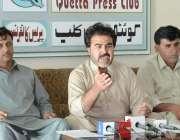 کوئٹہ: پاکستان پیرا میڈیکل اسٹاف ایسوسی ایشن بلوچستان کے چیئرمین محمد ..