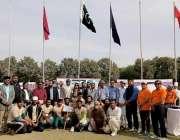 کراچی: سندھ ٹگ آف وار ایسوسی ایشن کے زیر اہتمام انٹر ڈویژن ٹگ وار چمپئن ..