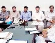 لاہور: ڈپٹی کمشنر لاہور سمیر احمد سید محکمہ زراعت ایڈوائزری کمیٹی کے ..