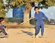 اسلام آباد: مقامی پارک میں بچے کھیل کود میں مصروف ہیں۔