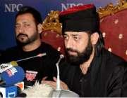 اسلام آباد: ریسلنگ انٹر ٹینمنٹ کے چیف ایگزیکٹر پیر عاصم کاظمی چمپئن ..