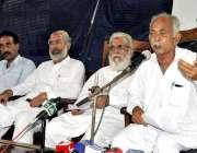 کراچی: کراچی پریس کلب میں واٹر ٹینکر اورنرز ویلفیئر ایسوسی ایشن کے ..