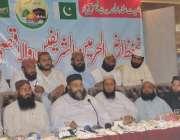 فیصل آباد: پاکستان علماء کونسل کے مرکزی چیئرمین حافظ طاہر محمود اشرفی ..