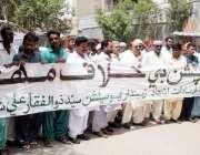 حیدر آباد: زمیندار ایسوسی ایشن کی طرف سے کرپشن کے خلاف احتجاجی ریلی ..