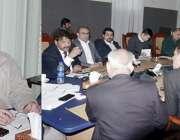 لاہور: صوبائی وزیر سکولز ایجوکیشن رانا مشہود احمد خاں پنجاب بھر کے ..