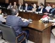 لاہور: وزیر اعلیٰ پنجاب محمد شہباز شریف کے ہمراہ شعبہ تعلیم سے تعلق ..