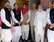 راولپنڈی: پی پی 4سے پیپلز پارٹی کے نامزد امیدوار راجہ خرم پرویز سابق ..