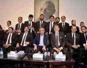 کراچی: گورنر سندھ محمد زبیر کا کراچی بار ایسوسی ایشن کے عہدیداران کے ..