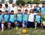 پشاور: انٹر کلب فٹبال چپئن شپ کے فائنل میچ کی فاتح ٹیم کا مہمان خصوصی ..