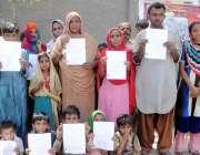 حیدر آباد: اولڈ پاور ہاؤس کے رہائشی پولیس کے خلاف احتجاجی مظاہرہ کر ..