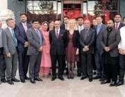 مانچسٹر: صدر آزاد کشمیر سردار مسعود خان کا برطانوی پارلیمنٹ کے نو منتخب ..