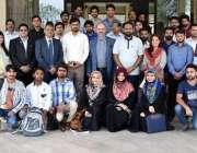 لاہور: پنجاب یونیورسٹی کالج آف ارتھ اینڈ انوائرنمنٹل سائنسز کے زیر ..