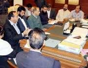 کراچی: میئر کراچی وسیم اختر الیکٹرک کے اعلیٰ سطحی وفد اور کے ایم سی ..