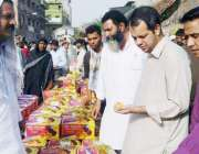 لاہور: ڈپٹی کمشنر لاہور سمیر احمد سید سبزی و فروٹ منڈی بادامی باغ کے ..