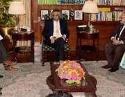 کراچی: گورنر سندھ محمد زبیر گورنر ہاؤس میں کنزیومر ایسوسی ایشن آف پاکستان ..