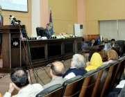 اسلام آباد: وفاقی وزیر خزانہ سینیٹر اسحاق ڈار ٹیکس ڈائریکٹری کی لانچنگ ..