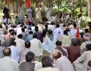 کوئٹہ: اتحاد میٹر پولیٹن کارپوریشن یونین کے زیر اہتمام مطالبات کے حق ..