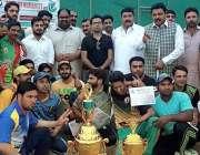 راولپنڈی: پاکستان تحریک انصاف کے رہنما زیاد کیانی کا انصاف کرکٹ لیگ ..