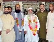 راولپنڈی: مرکزی انجمن تاجران کے صدر راشت اعوان کا نو منتخب نائب صدر ..