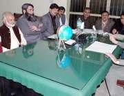 قصور: چیئرمین ضلع زکوٰة کمیٹی چوہدری محمد صادق ضلع زکوٰة کمیٹی کے اجلاس ..