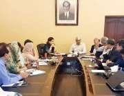 لاہور: صوبائی وزیر برائے سپیشلائزڈ ہیلتھ کیئر اینڈ میڈیکل ایجوکیشن ..