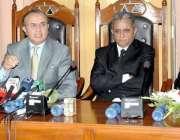 راولپنڈی: چیف جسٹس لاہور ہائیکورٹ جسٹس سید منصور علی شاہ جوڈیشل کمپلیکس ..