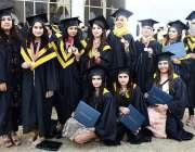 اسلام آباد: کیپٹل یونیورسٹی آف سائنسز کے سالانہ کانووکیشن کے موقع پر ..