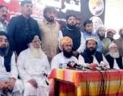 کوئٹہ: ڈپٹی چیئرمین سینیٹ مولانا غفور حیدری صحت یابی کے بعد پریس کانفرنس ..
