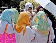 راولپنڈی: ڈی ایچ کیو ہسپتال میں مریضوں کے بے تہاشہ رش کو نظرانداز کئے ..