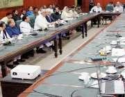 لاہور: صوبائی وزیر سپیشلائزڈ ہیلتھ کیئر خواجہ سلمان رفیق کابینہ کمیٹی ..