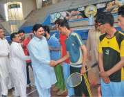 پشاور: ڈائریکٹر سپورٹس فاٹا محمد نواز خان گونر فاٹا یوتھ سپورٹس فیسٹیول ..