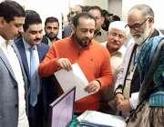 لاہور: صوبائیو زیر پرائمری اینڈ سیکنڈری ہیلتھ خواجہ عمران نذیر تحصیل ..