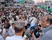 راولپنڈی: راجہ بازار میں تاجروں کی طرف سے روزے داروں کے لیے افتاری کا ..