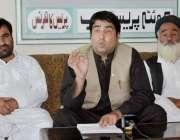 کوئٹہ: پاکستان مسلم لیگ (ن) ضلع پشین کے رہنما سعد اللہ ترین، علی اللہ ..