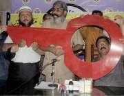 لاہور: آل پاکستان کیمسٹ رٹیلرز ایسوسی ایشن کے مرکزی چیئرمین اسحاق میو ..