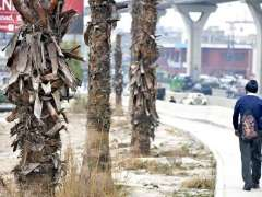 ABBOTTABAD: A view of car washing on the Pakistan's first