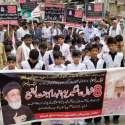 جہلم : تحریک نفاذ فقہ جعفریہ کے زیر اہتمام8شوال عالمی یوم انہدام جنت البقیع کے حوالے سے احتجاجی ریلی نکالی جا رہی ہے۔