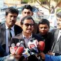 کراچی: پاکستان تحریک انصاف سندھ کے رہنما حلیم عادل شیخ سندھ ہائیکورٹ ..