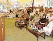 قصور: ڈپٹی کمشنر محمد ارشد یوم دفاع پاکستان کے موقع پر منعقدہ تقریب ..