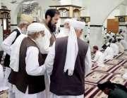 اسلام آباد: وزیر مملکت انجینئر محمد بلیغ الرحمن وفاق المدارس العریبیہ ..