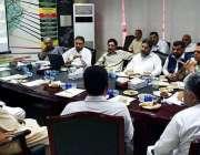 پشاور: وزیراعظم کے مشیر انجینئر امیر مقام اعلیٰ سطحی اجلاس کی صدارت ..