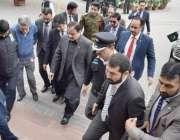 لاہور: وزیر اعلیٰ پنجاب سردار عثمان بزدار پنجاب اسمبلی آرہے ہیں۔