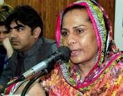پشاور: شی میل ایسوسی ایشن کی صدر فرزانہ خواجہ سراؤں کے حوالے سے پریس ..