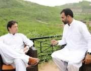 اسلام آباد: وزیراعظم عمران خان سے ممبر خیبر پختونخوا اسمبلی ضیاء اللہ ..