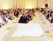 لاہور: وزیر اعلیٰ پنجاب سردار عثمان اپنی رہائشگاہ پر وزیر اعلیٰ آفس ..